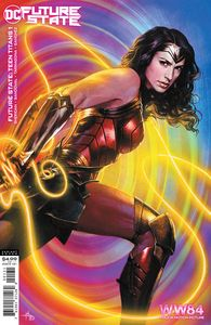 [Future State: Teen Titans #1 (Cover C Wonder Woman 1984 Gabriel Dell'Otto Card Stock Variant) (Product Image)]