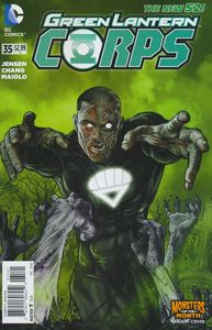 [Green Lantern Corps #35 (Monsters Variant Edition) (Godhead) (Product Image)]