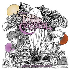 [Jim Henson's The Dark Crystal: Adult Coloring Book (Product Image)]