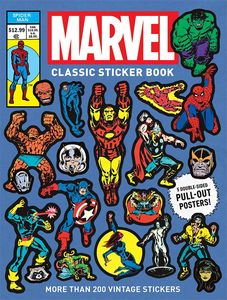 [Marvel Classic Sticker Book (Product Image)]