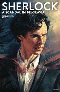 [The cover for Sherlock: Scandal In Belgravia #1 (Cover A Zhang Sherlock)]