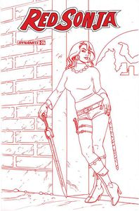 [Red Sonja #25 (Linsner Tint Variant) (Product Image)]