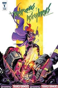 [Transformers Vs The Visionaries #1 (Cover A Ossio) (Product Image)]