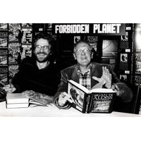 [Brian Aldiss and David Wingrove signing Trillion Year Spree (Product Image)]