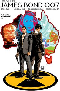 [James Bond: 007 #3 (Cover A Johnson) (Product Image)]