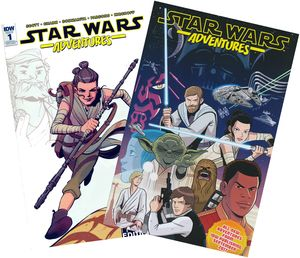 [Star Wars Adventures #1 (Convention Exclusive Variant) (Product Image)]