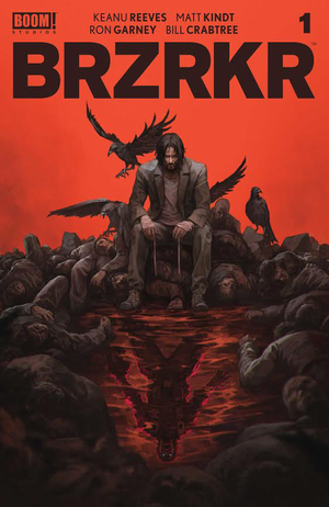 [The cover for BRZRKR (Berzerker) #1 (Forbidden Planet Exclusive Skan Variant)]