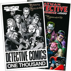 [Detective Comics #1000 (Forbidden Planet 40th Anniversary Bolland Variant Set - Signed By Brian Bolland) (Product Image)]