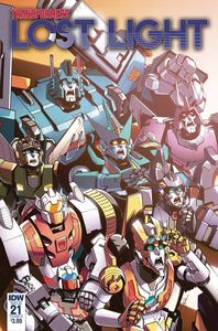 [Transformers: Lost Light #21 (Cover A Lawrence) (Product Image)]