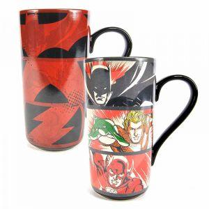 [Justice League: Heat Changing Latte Mug (Product Image)]