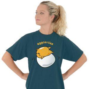 [Gudetama: T-Shirt: Eggcercise (Product Image)]