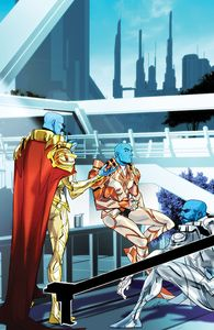 [Mighty Morphin #10 (Cover B Legacy Variant Carlini) (Product Image)]
