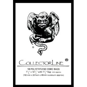 [Collectorline: Comic Bags (Pack Of 100) (Product Image)]