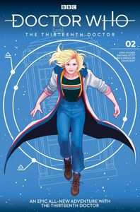 [Doctor Who: The 13th Doctor #2 (Cover A Ganucheau) (Product Image)]