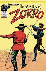 [AM Archives: The Mark Of Zorro 1949: 1st Apperance #1 (Main Cover) (Product Image)]