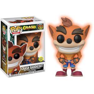 [Crash Bandicoot: Glow In The Dark Pop! Vinyl Figure: Crash (Product Image)]
