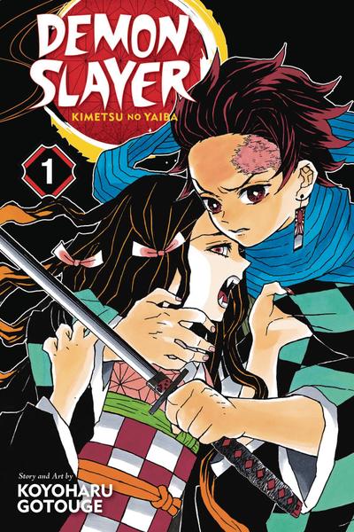 [The cover for Demon Slayer: Kimetsu No Yaiba: Volume 1]