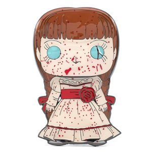 [Annabelle: Loungefly Large Enamel Pop! Pin: Annabelle (Product Image)]