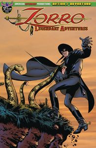 [Zorro: Legendary Adventures #2 (Main Cover) (Product Image)]