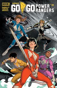 [Go Go Power Rangers #16 (Main & Mix Sg) (Product Image)]