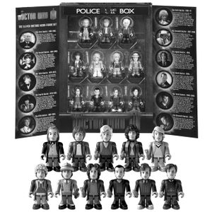 [Doctor Who: Character Building Mini Figures: 50th Anniversary Collector Set (Product Image)]