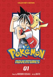 [Pokemon Adventures: Volume 1 (Collectors Edition) (Product Image)]