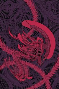 [William Gibson: Alien 3 #4 (Cover B Moore) (Product Image)]