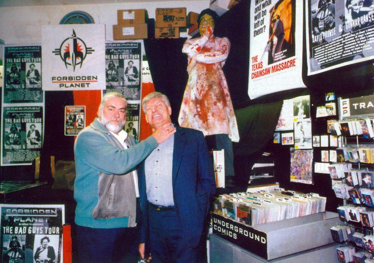 David Prowse and Gunnar Hansen