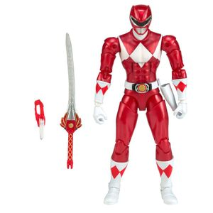 [Mighty Morphin Power Rangers: Legacy Action Figure: Red Ranger Metallic (Product Image)]