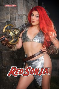 [Red Sonja #25 (Cover E Hollon Cosplay) (Product Image)]