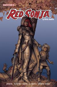 [Red Sonja: 2021 #4 (Cover C Linsner) (Product Image)]