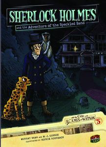 [On The Case With Holmes & Watson: Volume 5: The Adventure Of The Speckled Band (Product Image)]