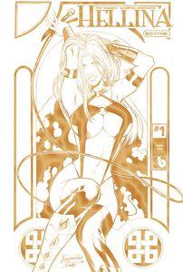 [Hellina: Scythe #1 (Gold Leather) (Product Image)]