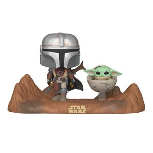 [Star Wars: The Mandalorian: Pop! Vinyl Television Moments: The Mandalorian & Child (Product Image)]