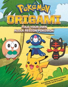 [Pokemon Origami: Fold Your Own Alola Region Pokemon (Product Image)]
