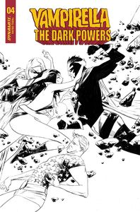 [Vampirella: Dark Powers #4 (Lee Black & White Variant) (Product Image)]