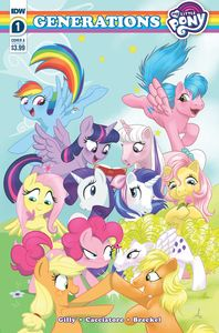 [My Little Pony: Generations #1 (Cover A Mebberson) (Product Image)]