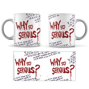 [The Dark Knight: Mug: Why So Serious? (Product Image)]