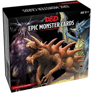 [Dungeons & Dragons: Monster Cards: Epic Monsters (Product Image)]