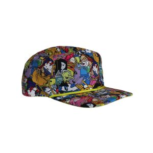 [Adventure Time: Snap Back Cap: All Over Print (Product Image)]