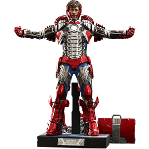[Marvel: Iron Man 2: Hot Toys Action Figure: Tony Stark (Mark 5 Armour Suit Up Deluxe Version) (Product Image)]