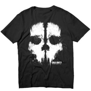 [Call Of Duty: Ghosts: T-Shirts: Foil Ghost Logo (Product Image)]