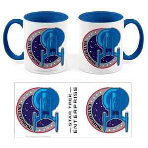 [Star Trek: Enterprise: The 55 Collection: Mug: Uniform Patch (Product Image)]