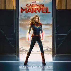 [Captain Marvel: Square Calendar: 2020 (Product Image)]