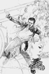[James Bond #3 (Cheung Pencil Variant) (Product Image)]