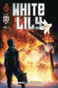 [The cover for White Lily #4]