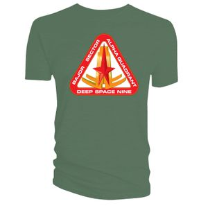 [Star Trek: Deep Space Nine: T-Shirt: Bajor Sector (Green) (Product Image)]