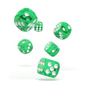 [Oakie Doakie Dice: D6 Dice 12 Set: Speckled Green (Product Image)]