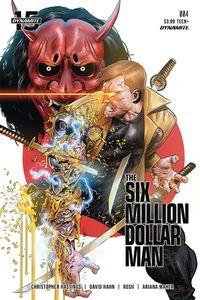 [Six Million Dollar Man #4 (Cover C Gedeon) (Product Image)]
