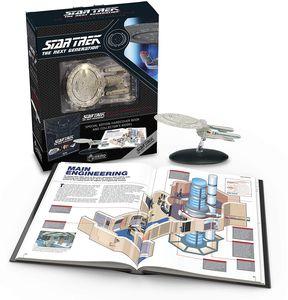 [Star Trek: The Next Generation: Illustrated Handbook Plus Collectible: USS Enterprise NCC-1701-D (Hardcover) (Product Image)]